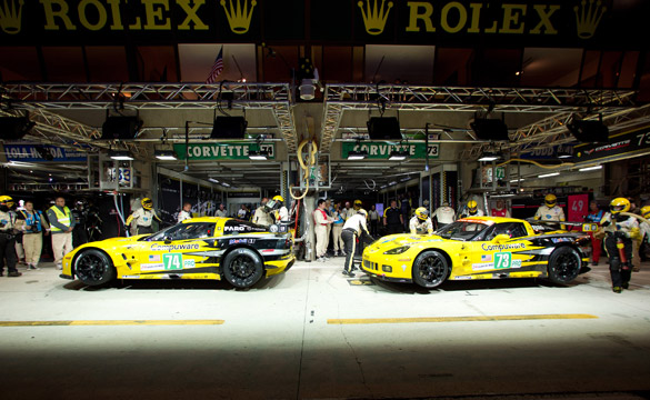 Live Blogging the 24 Hours of Le Mans