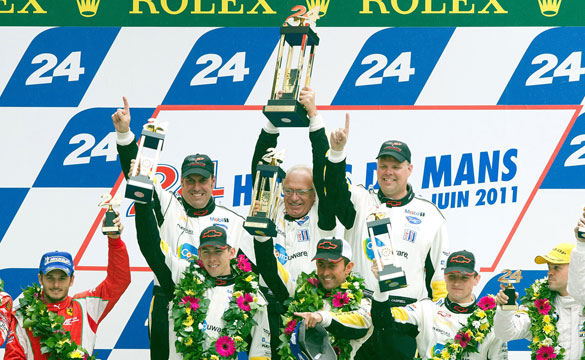 Corvette Racing Wins 24 Hours of Le Mans