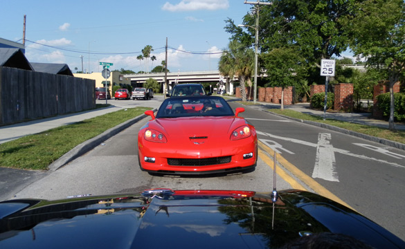 Friday is National Drive Your Corvette to Work Day