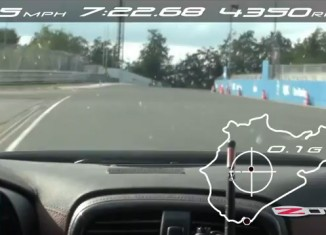 [VIDEO] Corvette Z06 Laps the Nurburgring in 7:22.68