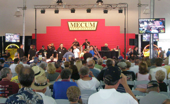 Mecum's Bloomington Gold Auction Rakes in $5.8 million in Corvette Sales