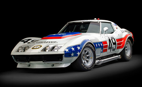 1969 BFG Stars & Stripes Corvette Racer Headed to RM's Monterey Auction