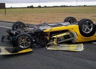 Grand Sport Corvette Destroyed in Lodi DUI Crash