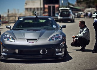 [VIDEO] LG Motorsports Corvette ZR1 Sets Record Time at Spectre 341 Hill Climb