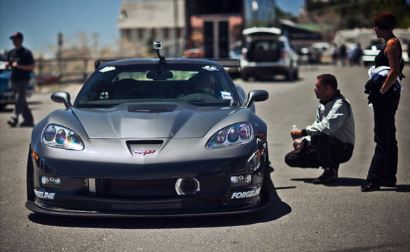 [VIDEO] LG Motorsports Corvette ZR1 Sets Record Time at Spectre 341 Hill Climb