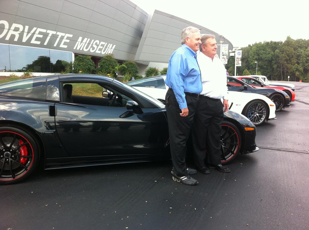 Hendrick Picks Up a 2011 Black Carbon Z06 and Other Rare Corvettes at the NCM