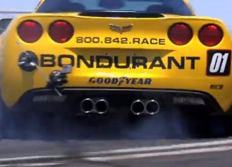 [VIDEO] Borla Outfits Bondurant's Grand Sport Corvettes for Exhaust Test