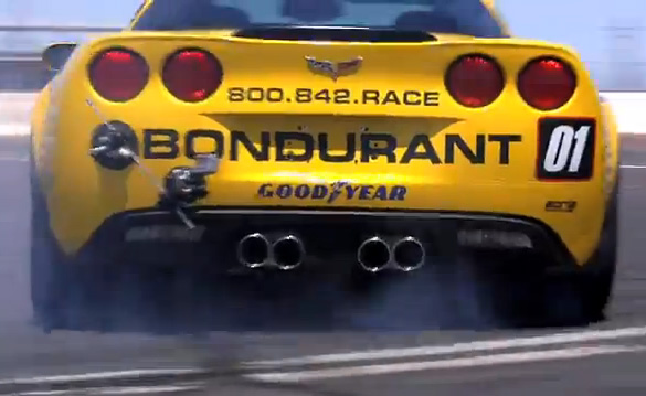 [VIDEO] Borla Outfits Bondurant's Grand Sport Corvettes for Exhaust Test