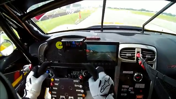 [VIDEO] Tommy Milner's Corvette C6.R Helmet Cam
