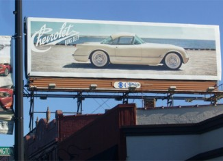 [Ad Watch] Corvette Billboards On Display for Woodward Dream Cruise