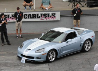 Corvettes at Carlisle: GM Shows Off New GCA Torque 2 Wheels and Stripe Package