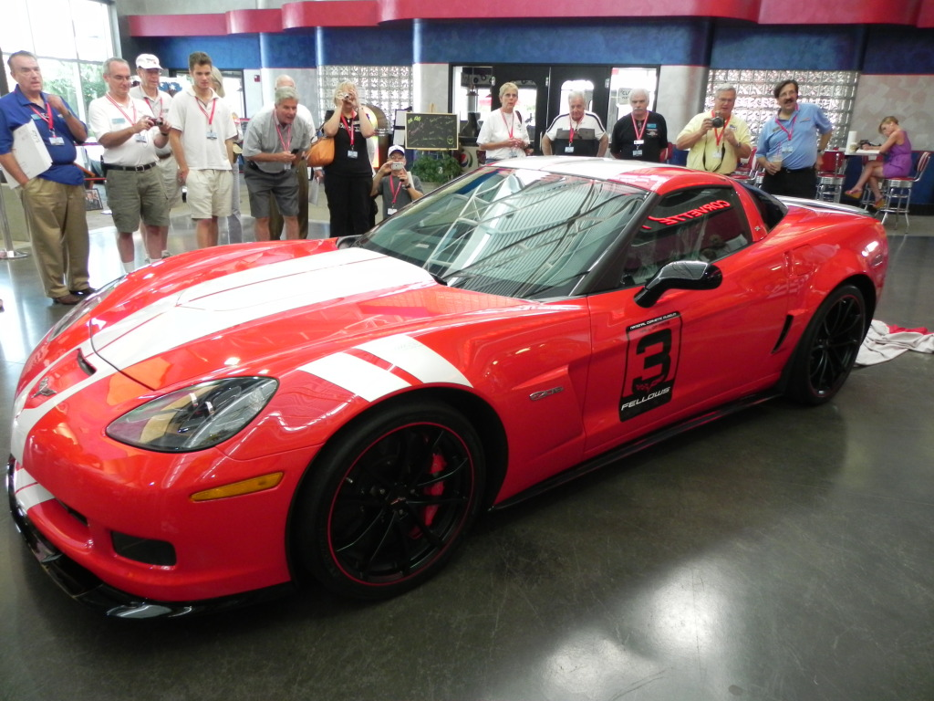 [VIDEO] Unveiling the 2012 Ron Fellows SEMA/Spring Mountain Corvette Z06