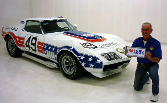 1969 BFG Stars & Stripes ZL1/L88 Racer Finds New Home at Proteam Corvette