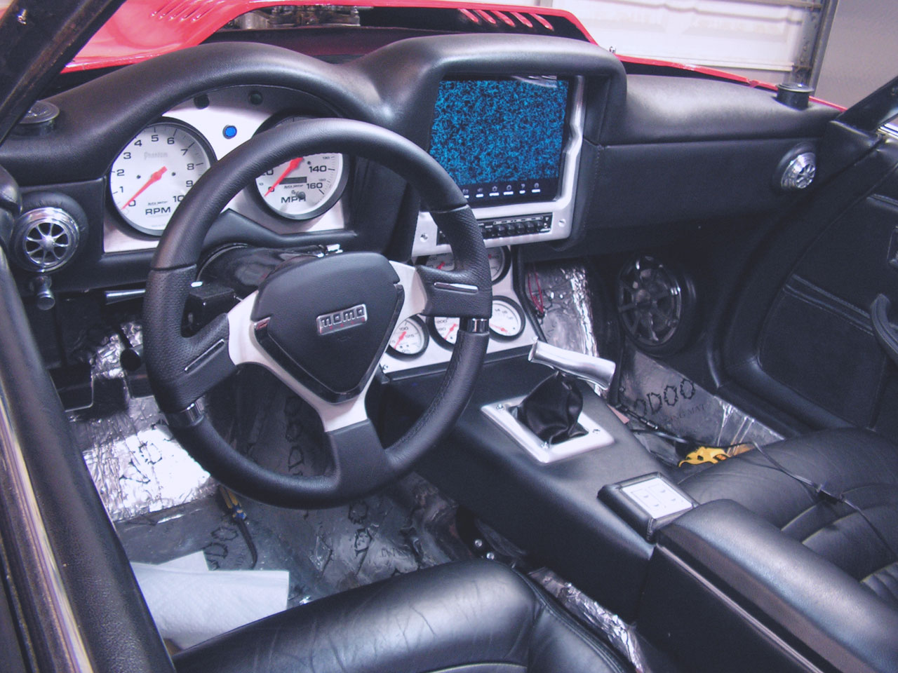 1981 Corvette Gets a Custom iPad Install