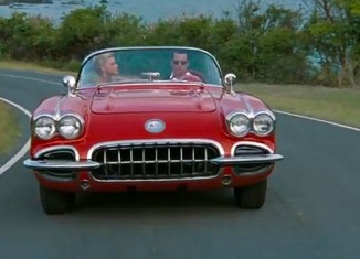 "Johnny Depp Receives a 1959 Corvette as Gift from ""Rum Diary"" Movie Producer"