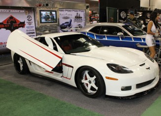 SEMA 2011: The George Barris Bat Ray Corvette