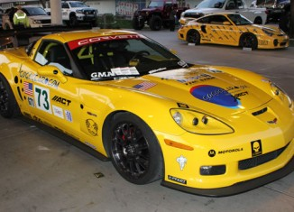 SEMA 2011: Corvette Racing C6.R GT1 Tribute Car