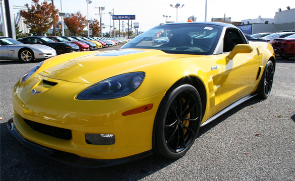 October 2011 Corvette Sales