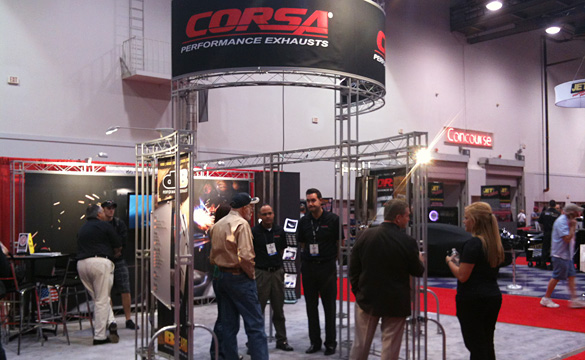SEMA 2011: Corsa Introduces New Black Diamond Exhaust Tips for Z06/ZR1 Corvettes