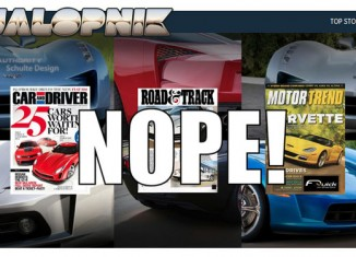 Jalopnik to Reveal 'Real' C7 Corvette on Monday at Noon; Updated with Photo of 2014 Corvette ZR1