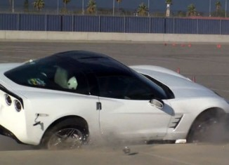 [VIDEO] Corvette Crashes During Autocross Event