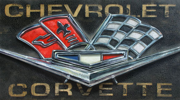 [VIDEO] Custom Corvette Artwork From David Mills