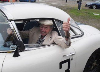 Corvette Racing Legend John Fitch Found Safe and Sound