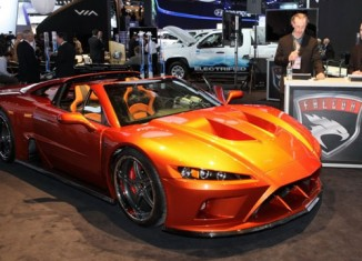 [VIDEO] Hand Built Falcon F7 Powered by the Z06 Corvette's LS7 V8 Engine