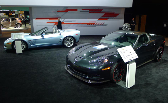 [PICS] Corvettes at the North American International Auto Show