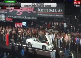 [VIDEO] 2013 Corvette 427 Convertible Sells for $700,000 at Barrett-Jackson
