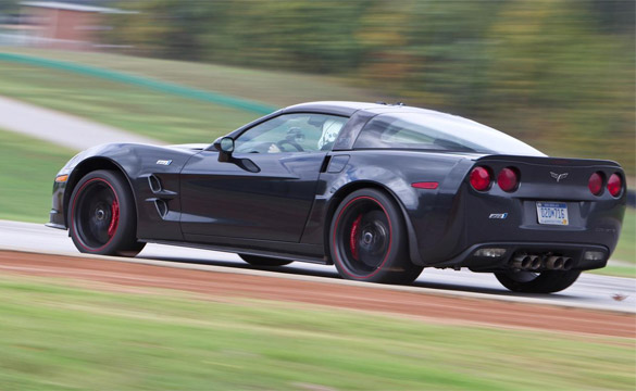 2012 Corvette ZR1 Runs Fastest Time at Car and Driver's Lightning Lap #6 at VIR