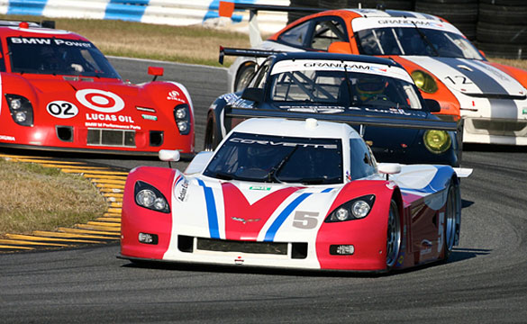 Corvette DP Finishes 5th at 50th Rolex 24 Hours at Daytona