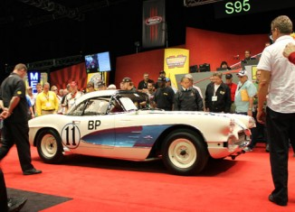1961 Corvette Gulf Oil Race Car a No-Sale at Mecum's 2012 Kissimmee Auction