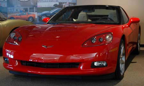 $10 Corvette Raffle Returns this Week to the NCM