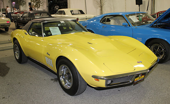 1969 L88 Corvette Roadster Sells for $610,000 at Mecum's 2012 Kissimmee Auction