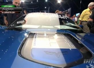 [VIDEO] 2010 Corvette ZR1 VIN 001 Sells at Barrett-Jackson
