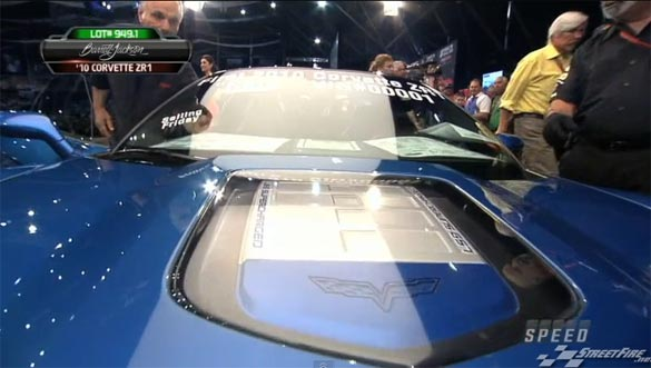[VIDEO] 2010 Corvette ZR1 VIN 001 Sells at Barrett-Jackson