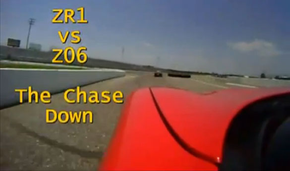 [VIDEO] C5 Z06 Corvette Chases Down a C6 ZR1 at the Track
