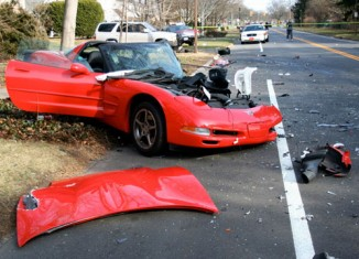 [ACCIDENT] C5 Corvette Destroyed in Long Island Crash