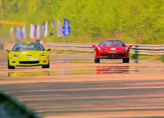 Ferrari 458 vs 750-hp Corvette ZR1 Lingenfelter, Nissan GT-R and Audi RS6