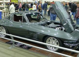 """[PICS] Subtle Outrageousness: 1964 Corvette Named """"Lydia"""""""
