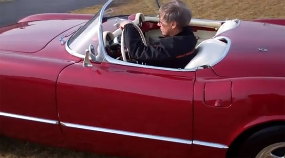 Man Selling 1954 Corvette after 50 Years of Ownership