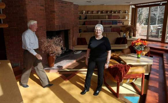 Former Corvette Chief Engineer Selling Wright-inspired Detroit Home