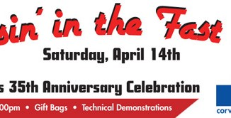 Zip Corvette Parts Invites You to Their 35th Anniversary Celebration on April 14th