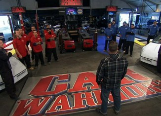 Watch Car Warriors this Wednesday and Win a SPEED Prize Pack