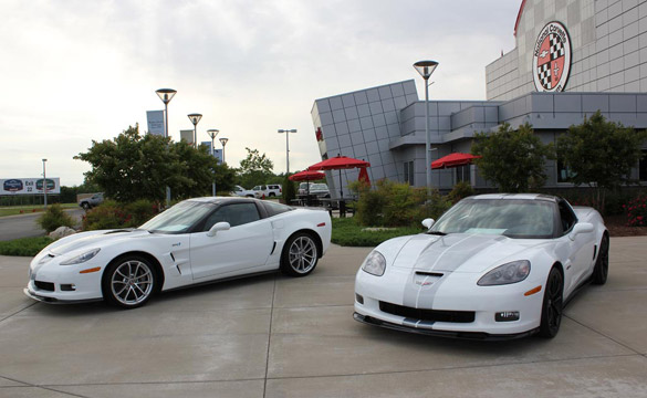 [PICS] 2013 Arctic White Corvettes on Display at the NCM Bash