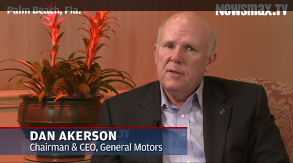 "[VIDEO] GM Chairman Akerson Comments on ""Top Secret, Revamped"" C7 Corvette"