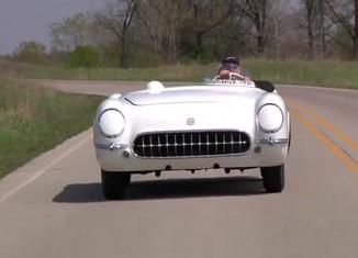 [VIDEO] Take a Ride in the EX-87 Corvette