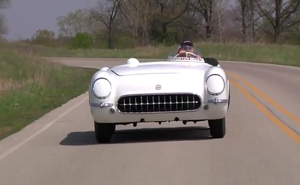 [VIDEO] Take a Ride in the EX-87 Corvette