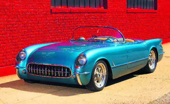 1954 Hot Rod Corvette Gets a New Lease on Life